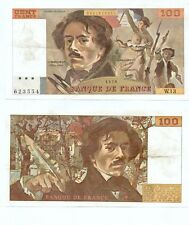 100 FRANCS DELACROIX de 1979  W. 13