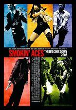 SMOKIN ACES * CineMasterpieces 1SH ORIGINAL MOVIE POSTER 2007 LAS VEGAS GAMBLING