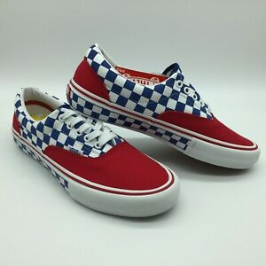 Vans Men/Women's Shoes Era Pro (Primary) Red/Blue/Yellow. Pleas read size chart.