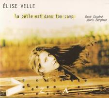 Elise Velle - La Belle Est Dans ( Cirque du Soleil ) CD   NEW / SEALED
