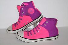 Converse  Easy Slip Hi Casual Sneakers, #640566, Pink/Ppl, Womens ~6.5, 5 Youth
