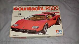 Tamiya Lamborghini Countach LP500S 1/24 Model Kit #24006