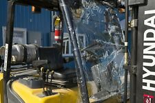 Forklift Cage Cover and Windshield