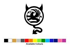 Vauxhall Devil Logo, Vinyl Graphics Sticker, Exterior, Choose From 15 Colours