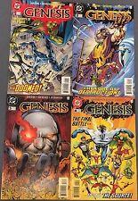 GENESIS four issue mini-series set #1 #2 #3 #4 (1997) DC Comics VERY FINE