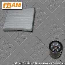 KIT di RICAMBIO per HONDA JAZZ 1.4 i-DSI FRAM OLIO FILTRI CABINA gd1 ge3 (2002-2008)