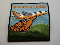 Firefighting Air Tanker Support Embroidered Patch DC-10