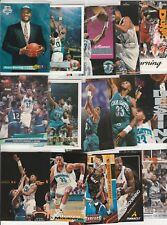 ALONZO MOURNING ZO LOT (31) DIFFERENT CARDS  W/ 4 INSERTS 7 1992-93 ROOKIES RC