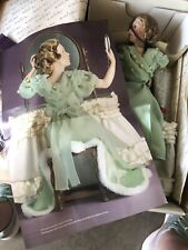Vintage Danbury Mint Doll Norman Rockwell Porcelin Cover Girl Going Out� Nib