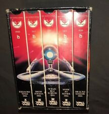 Star Trek VHS Video Movies 25th Anniversary Collector's Five (5)  Set A5