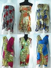 US SELLER-lot of 4 wholesale maxi dresses ladies resort wear long dress