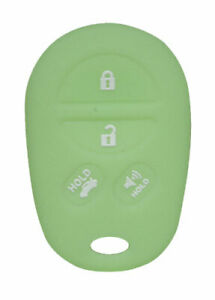 Keyless Entry Key Fob Rubber Cover for Toyota Remote Avalon Sienna Sequoia