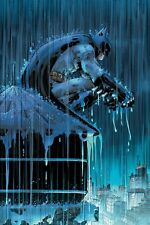 JOHN ROMITA JR rare BATMAN: Two Storms CANVAS giclee SIGNED WB art COA!!
