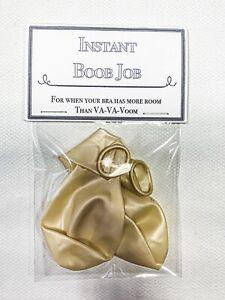 Instant Boob Job Funny Novelty Joke Christmas Gift Secret Santa Stocking filler