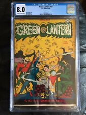 GREEN LANTERN #19 CGC VF 8.0; OW-W; Sing a Song of Disaster (4-5/46)!