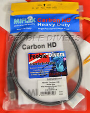 MIFLEX Carbon HD  Heavy Duty Highpressure Gauge Hose, Braided 30 inch NEW