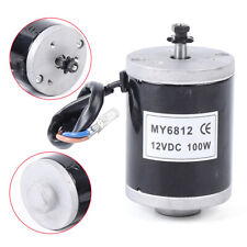 High Speed Motor with Sprocket,Small Brush MY6812 150w 120W 100W 12V or 24vDC