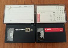 Camcorder Video Tapes x 2 (45 Mins)