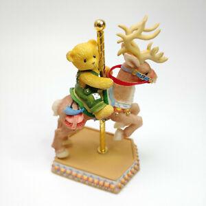 Cherished Teddies Enesco Marcus Merry Go Round Figurine 589934 1999