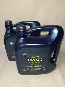 10 Liter (=2x5 L) ARAL SuperTronic LL3 5W-30 ; VW 507 00 ; MB 229.51