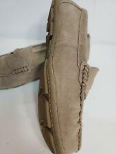 Merona woman Beige Leather Suede flat Loafer 8
