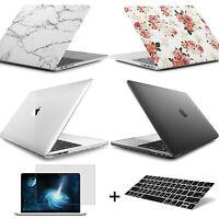 Genuine Rubberized Hard Case + Keyboard Cover+Film For 2016 MacBook Pro 13.3inch