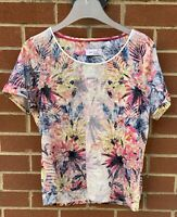 Womans M&S Short Sleeve Top UK 12 Ladies Per Una Summer Top