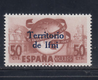 IFNI (1949) NUEVO SIN FIJASELLOS MNH SPAIN - EDIFIL 65 (50 cts) DIA SELLO LOTE 1