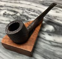 Vintage Estate Bijou (Stanwell) Compact Rustic Pot Shaped Sitter Pipe-Very Nice!