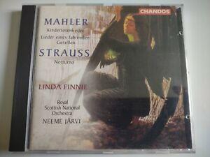 Linda Finnie sings Mahler Kindertotenlieder SNO Jarvi Chandos 9545 CD