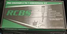 RCBS Pro Chucker 5 to 7 Conversion Kit w/Die Plate Shell Holder Priming System++