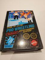 Pro Wrestling (Nintendo NES) CIB