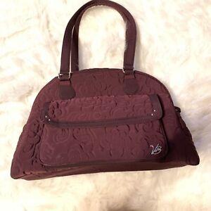 Vera Bradley Microfiber Collection Unisex Baby Bag Wine Color. $125 New