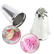 Drop Rose Flower Icing Piping Tips Nozzle Cake Cupcake Decorating Pastry Tool PA