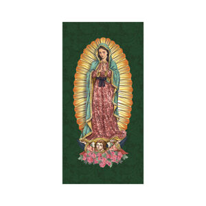 Holy Images Our Lady of Guadalupe Retractable Banner Stand