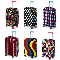 Travel Luggage Cover Bags Protector Elastic Suitcase Dust-Proof Covers Welcome