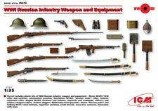 ICM 1/35 WWI Russian Infantry Weapon and Equipment # 35672