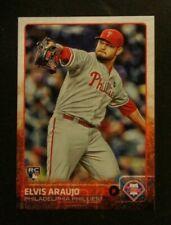 2015 Topps, Philadelphia Phillies - ELVIS ARAUJO (RC) Venezuela