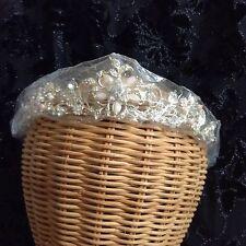 NWT Pink & Gold  Rhinestone Wedding Bridal Tiara Headpiece Crown Formal