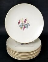 Set of 5 Knowles Vintage X 4041 Dinner Plates 10 1/4""