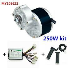 MY1016 250WZ2 + Motor Controller + Twist Throttle, DIY Electric Bicycle Kit