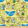 The Jetsons Retro Frames FAT QUARTER Cotton Quilt Fabric Camelot