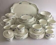WEDGWOOD METALISED BONE CHINA 4034 - Job Lot Tea Dinner Ware 66 Pieces