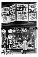 pt9222 - Doncaster - Reg Ray Cycle Shop , Printing Office Street - photograph