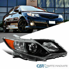 For Toyota 12-14 Camry Pearl Black Passenger Side Projector Headlight Right