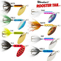 Rooster Tail Spinner, Wordens,Trout & Salmon  3 Wts 3.5gm - 7gm No1 Lure in USA