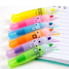 6Colors Cute Stationery Mini'Cute Boat Highlighter Pen Marker Pens Set Kids Gift