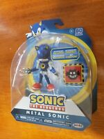 "Sonic The Hedgehog Metal Sonic with Trap Spring 4"" Sonic Figure NEW FREE SHIP"