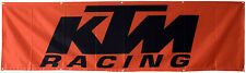 KTM Racing Flag Motorcycle Racing 2X8FT Banner