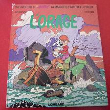 Hard Cover French Book Idéfix - L'orage ! Astérix & Obélix